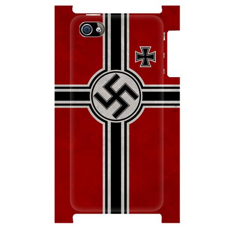 ドイツ国防海軍軍艦旗(汚し塗装)